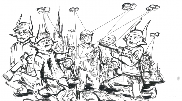 Illustration example from Reckoning