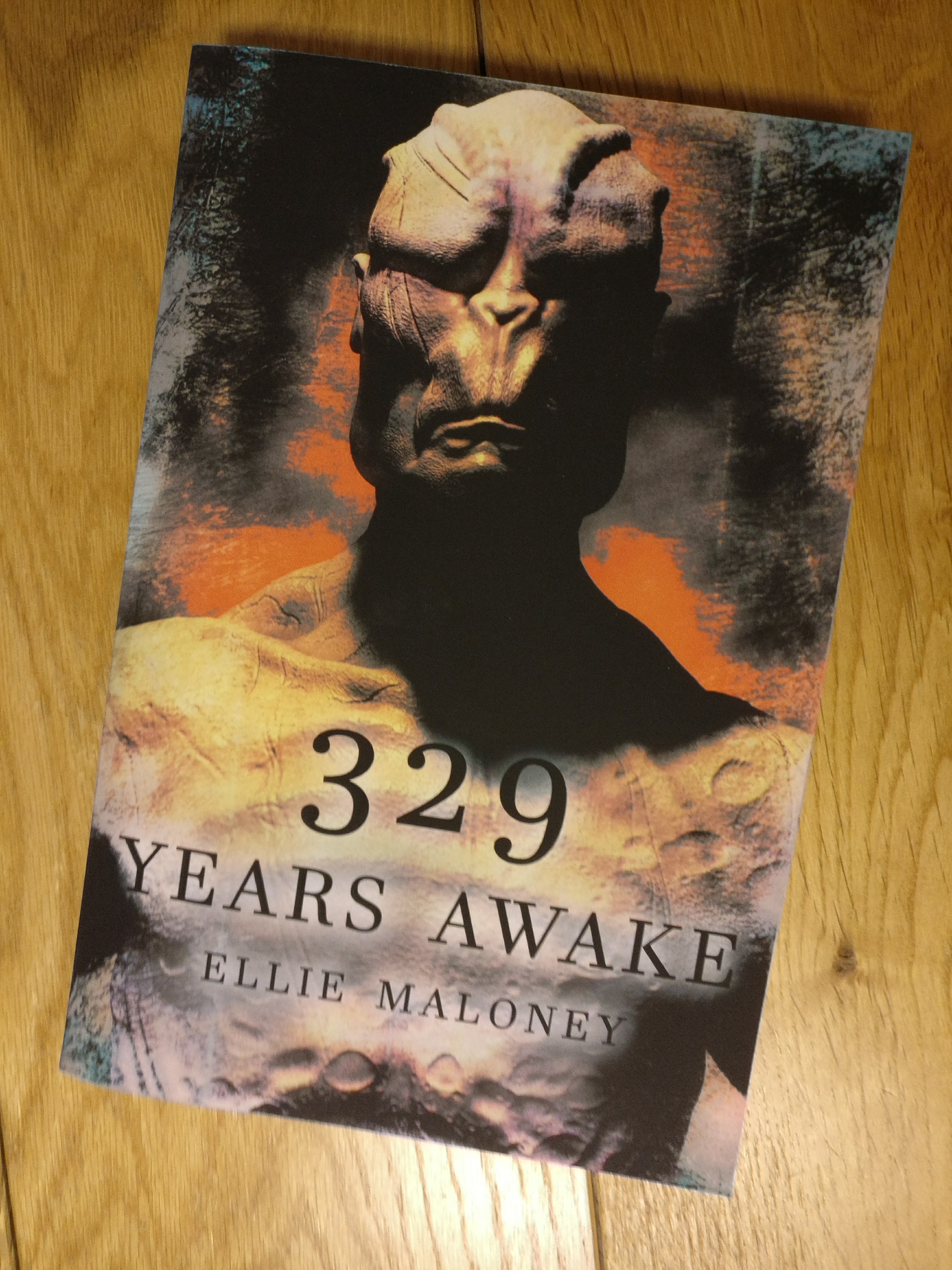 329 Years Awake - Ellie Maloney - Cover Page Illustration